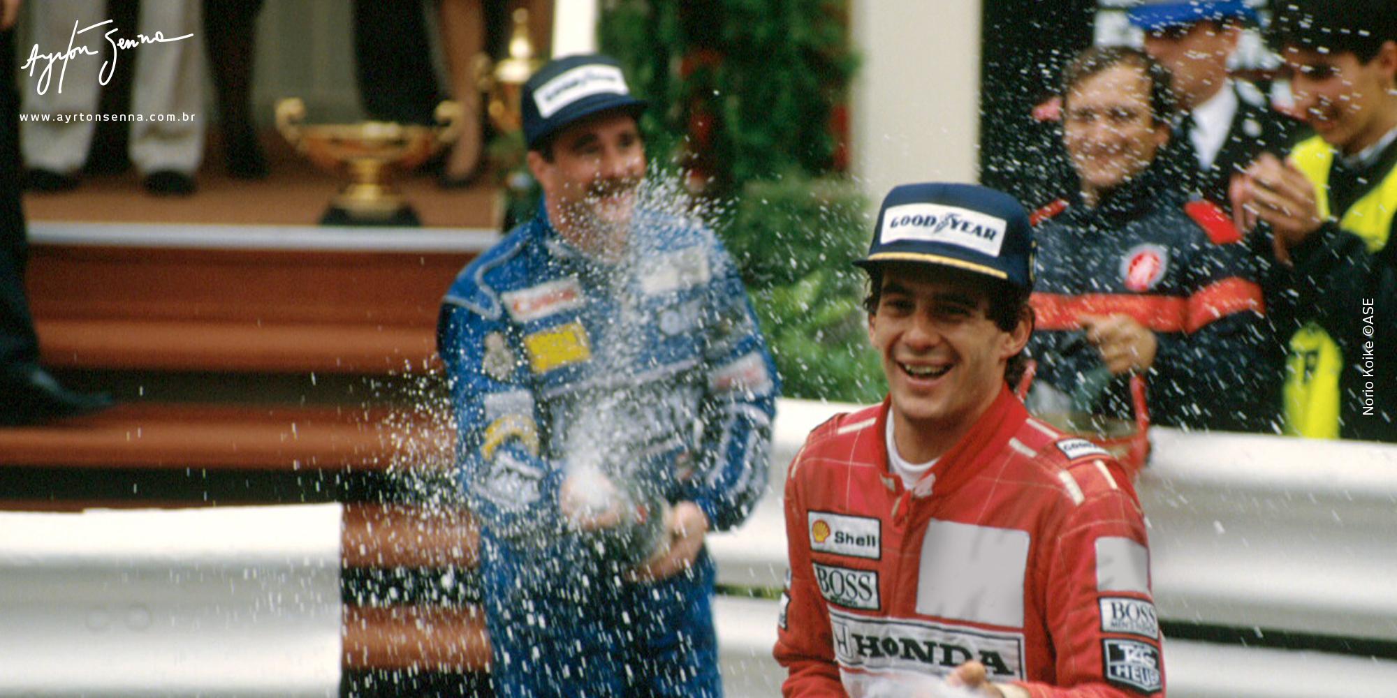 10 anos de Fórmula 1 (1984-1994)