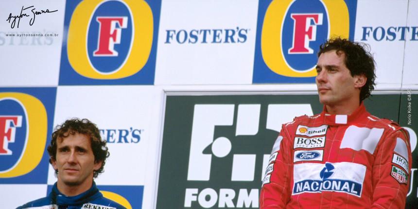 Última vitória de Ayrton Senna da F1 em GP de Adelaide 1993.
