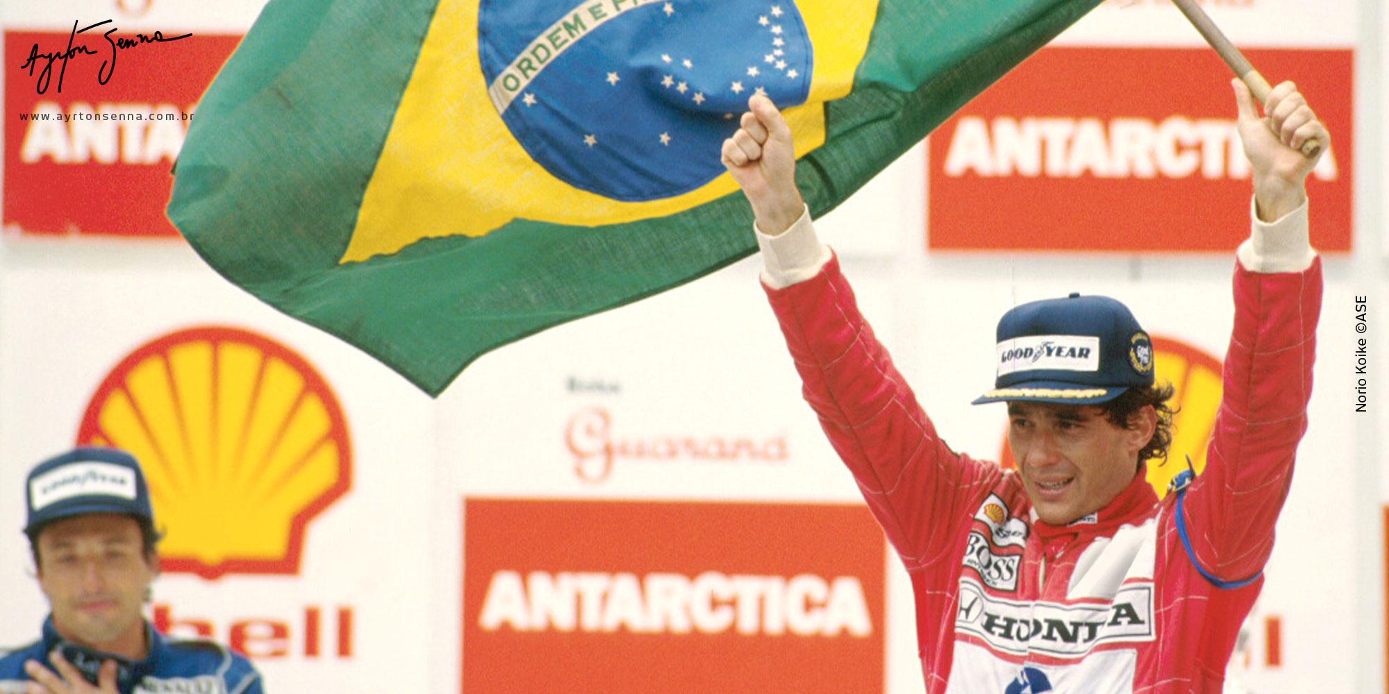 Um emocionante vídeo como presente do IAS para os fãs de Ayrton Senna