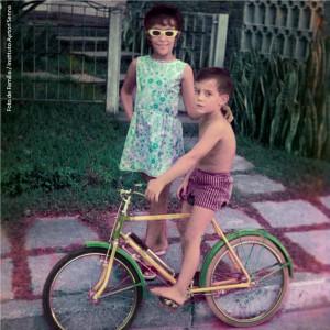 Bicicleta amarela tornou-se inesquecível para Ayrton