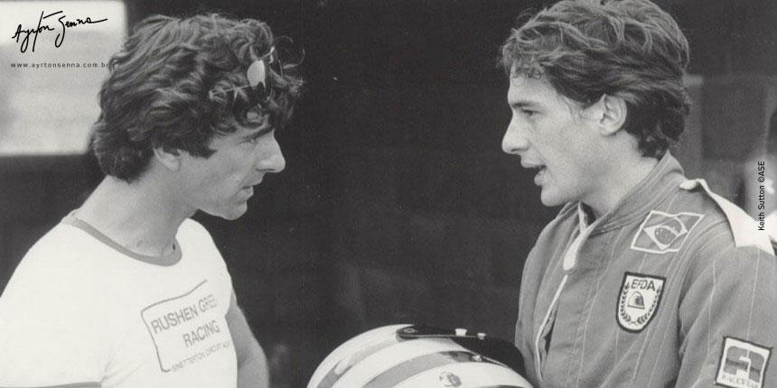 DENNIS RUSHEN (Chefe de equipe da Rushen Green Team, 1982)