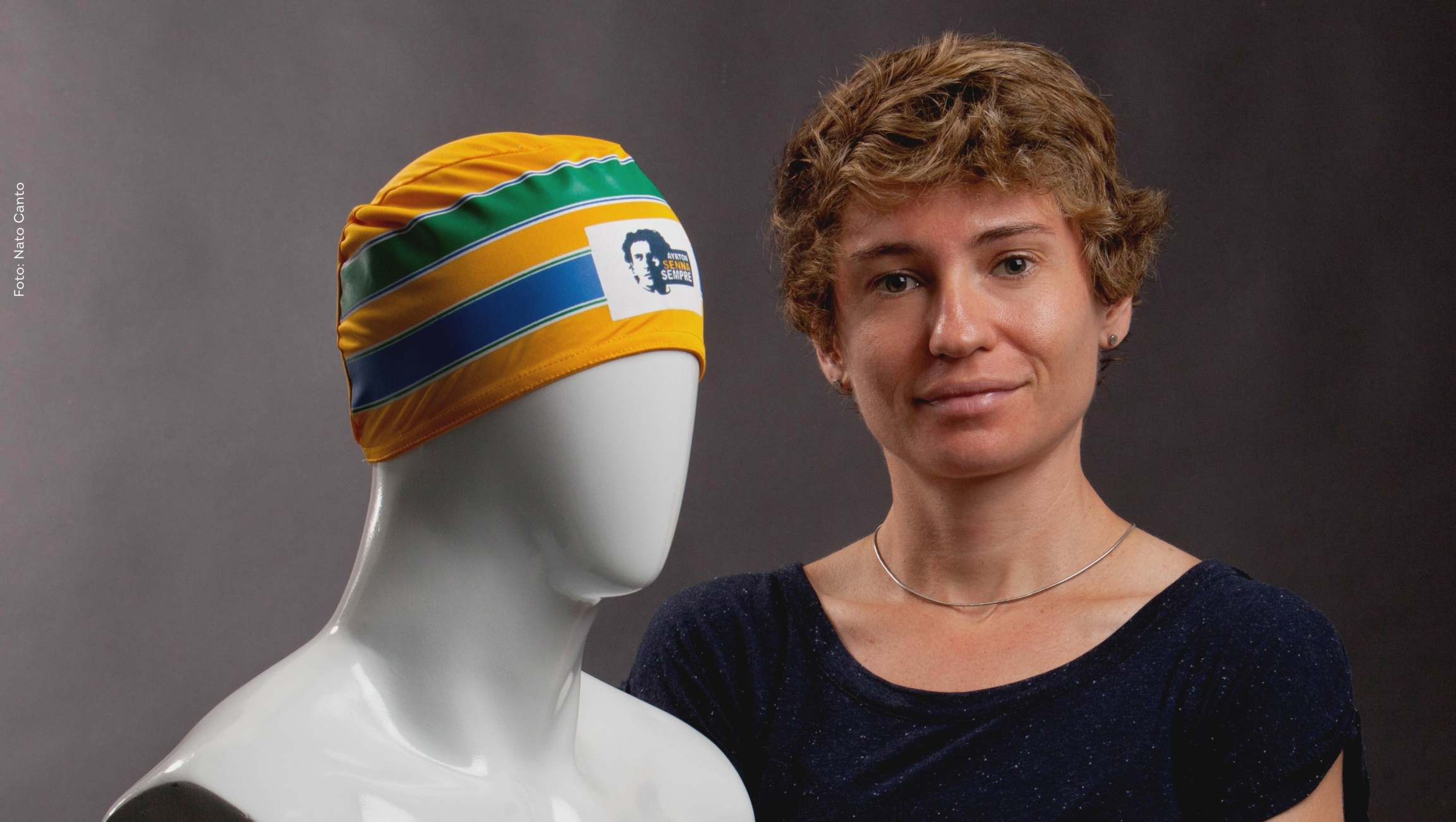 Ayrton Senna honored in Brazilian athlete's hat during the ...