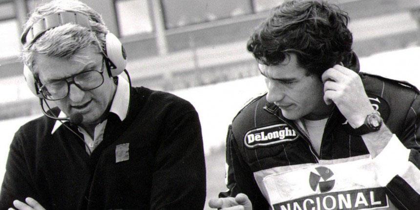 PETER WARR (Chefe da Equipe Lotus, 1985-1987)