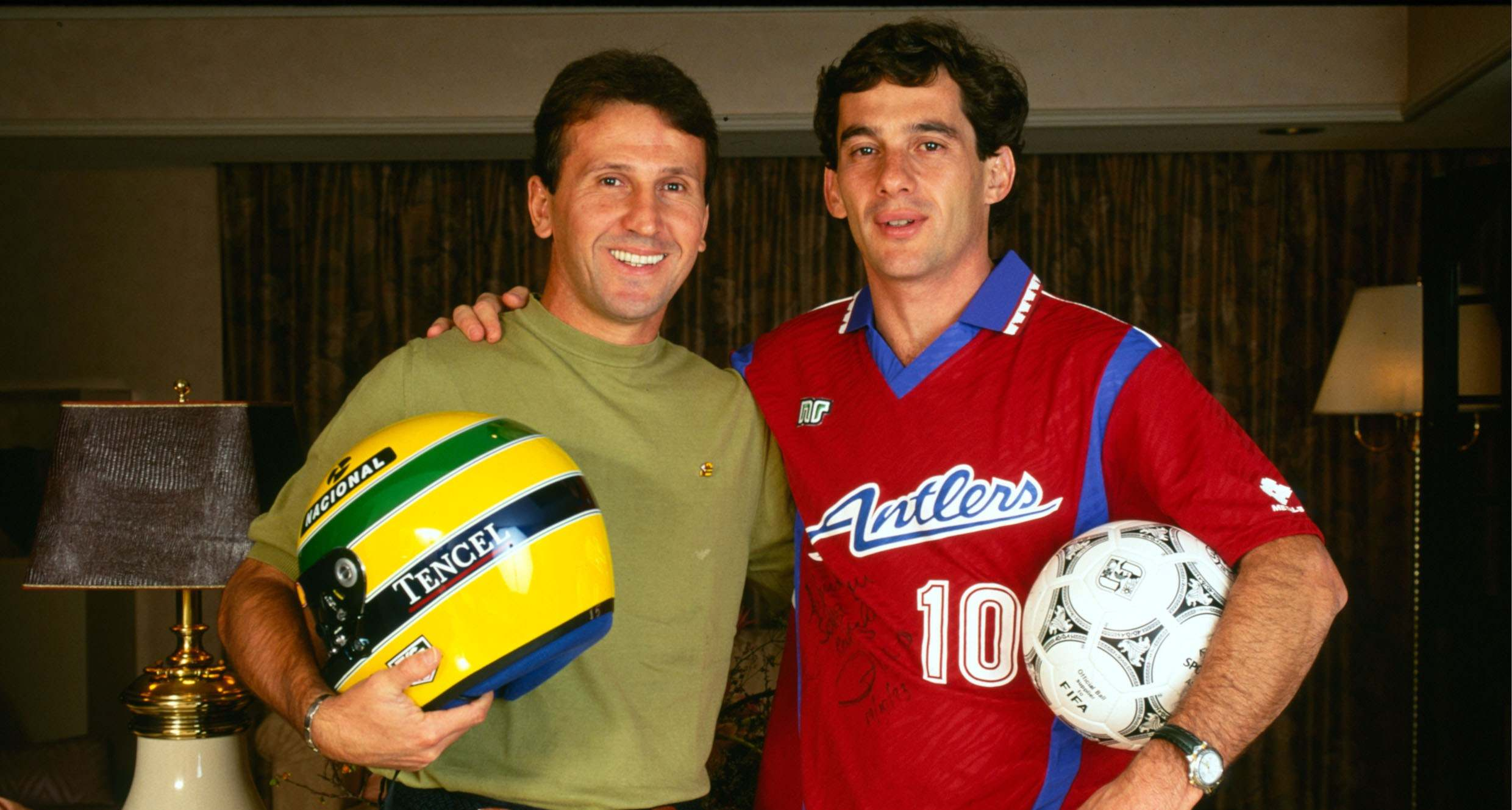 Senna and Zico: a special conversation between idols in ...