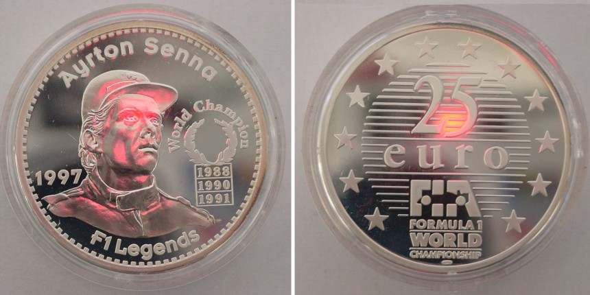 8 Coins That Have Honored Ayrton Senna Ayrton Senna