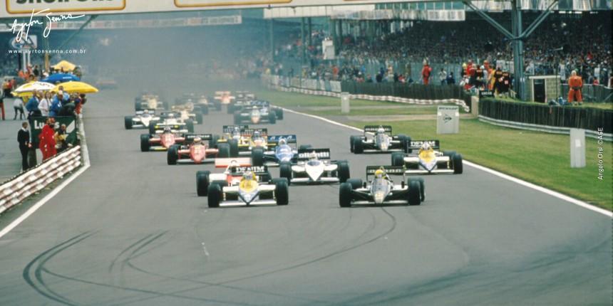 Ayrton Senna, ex-piloto de Formula 1 em 1985 by ayrtonsenna.com.br