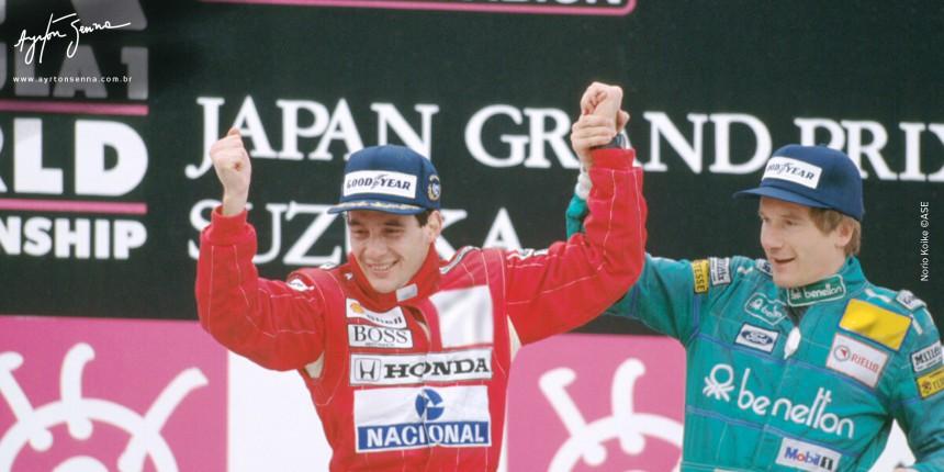 Ayrton Senna, ex-piloto de Formula 1 em 1988 by ayrtonsenna.com.br