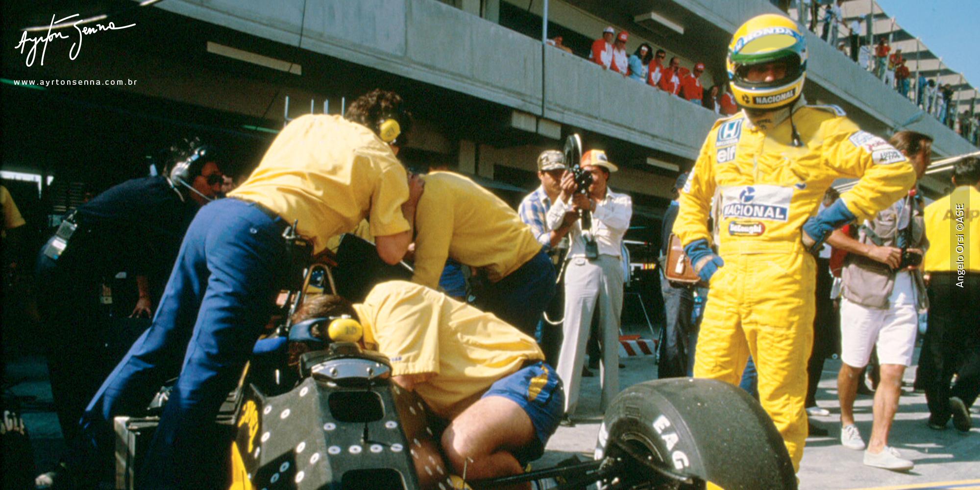 Thruxton Go Karting >> Mexican Grand Prix – 1987 - The history of Ayrton Senna