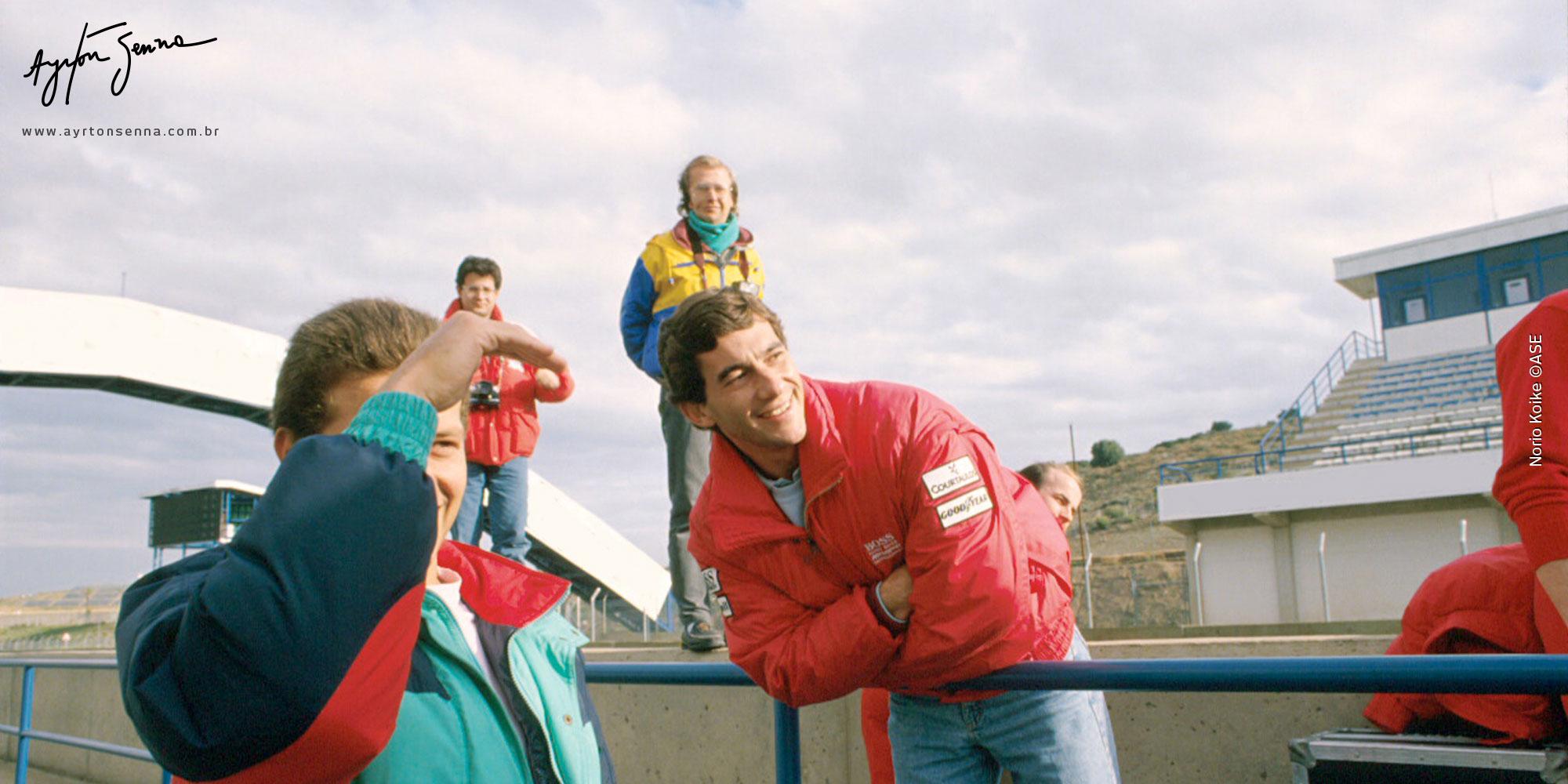 Belgian Grand Prix Circuit >> Achievements/41 Victories - The history of Ayrton Senna