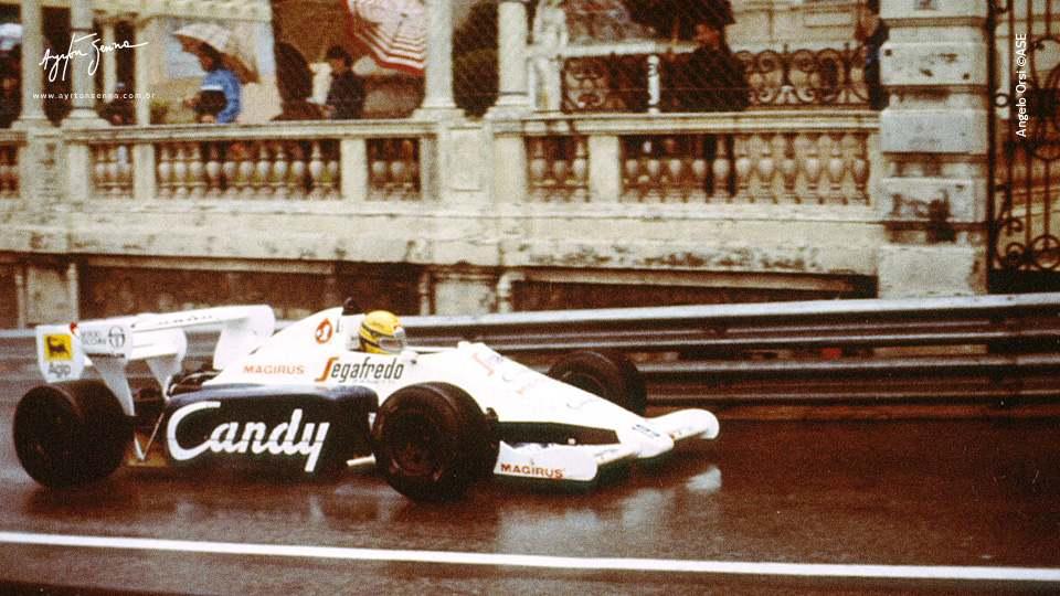 0dce2a2323 O dia em que Senna se apresentou para Mônaco - A história de Ayrton ...