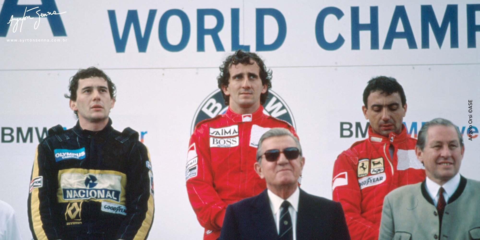 49de6b48ed Senna e Lotus  vitórias e pódios inesquecíveis - Ayrton Senna