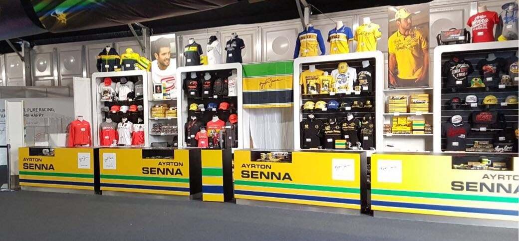 ec03115bd2 Ayrton Senna Shop é destaque em Silverstone - A história de Ayrton Senna
