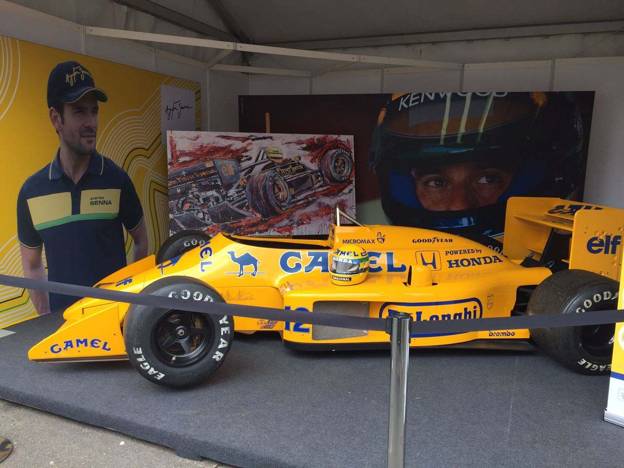 Ayrton Senna Shop é destaque em Silverstone - A história de Ayrton Senna 72dbb8a9eb0