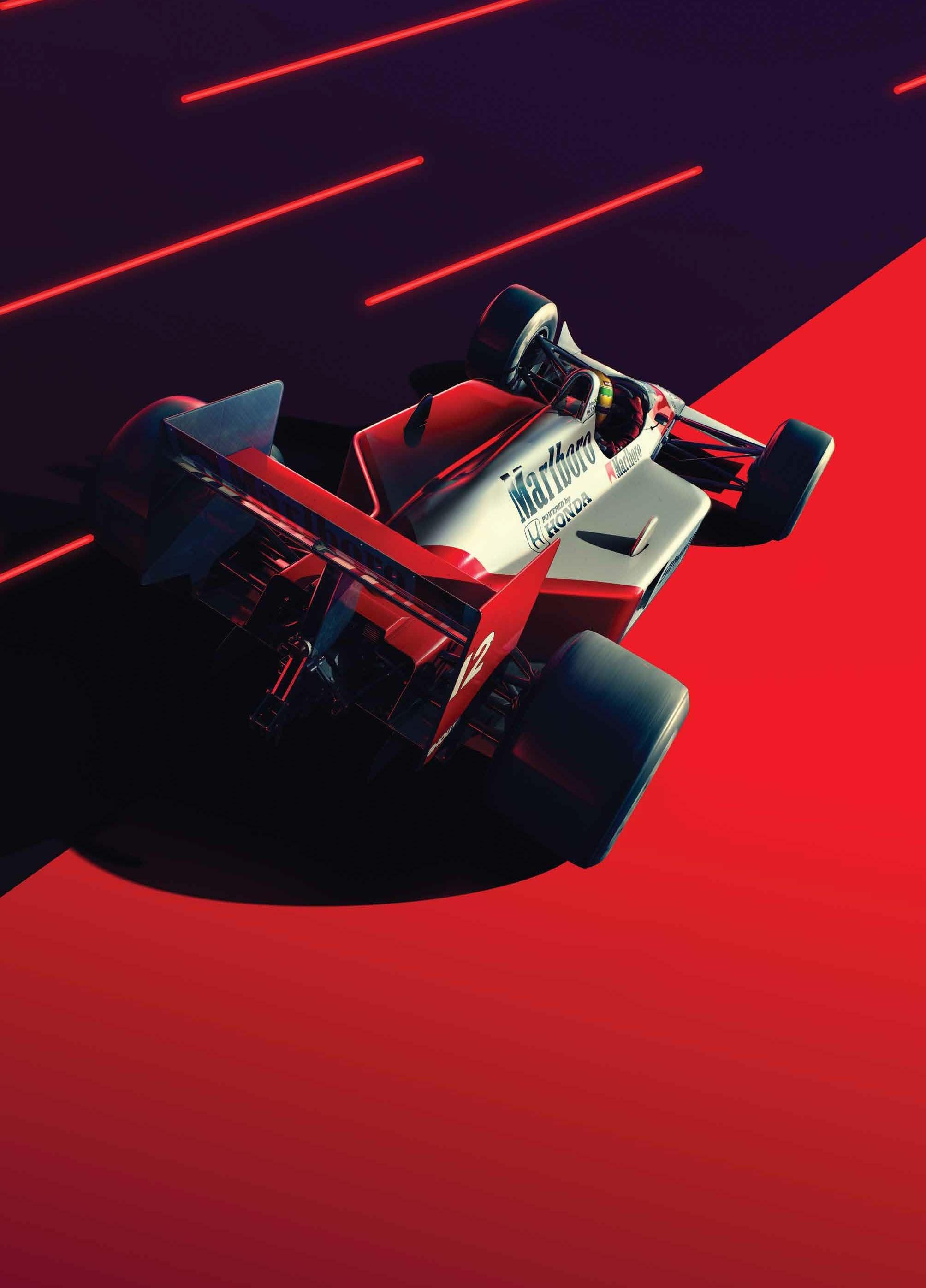 Limited Edition Original Print McLaren Formula 1 Car  *DISCOUNTED OFFERS*