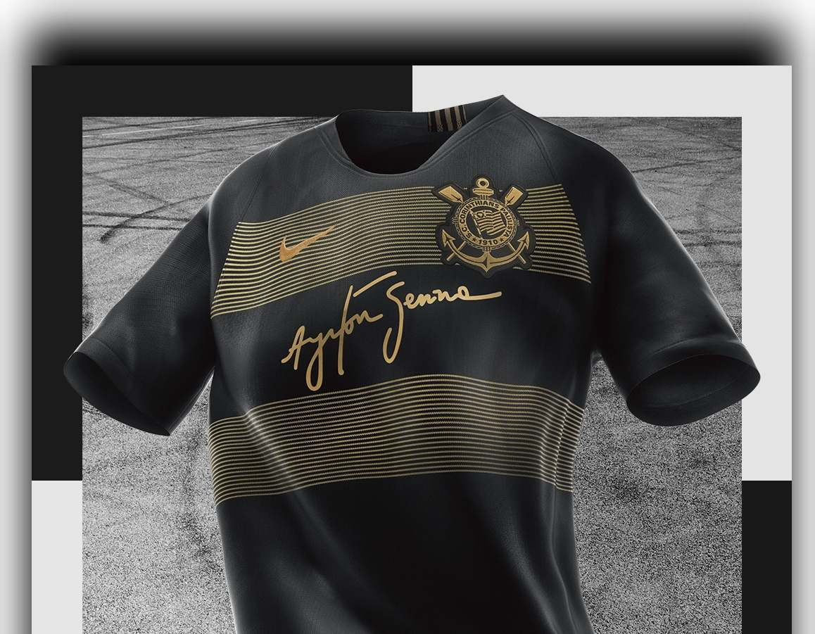 32a9822869 Nike e Corinthians lançam coleção em homenagem ao legado eterno de Ayrton  Senna - Ayrton Senna