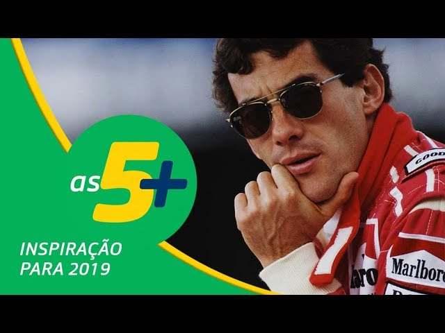 Senna TV As 5+| Frases motivacionais de Ayrton Senna